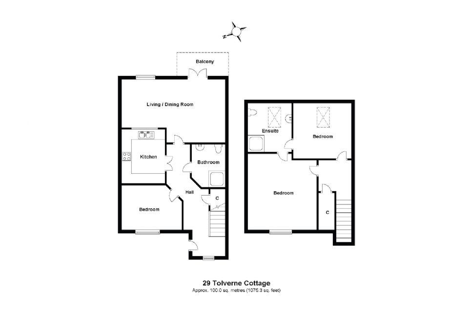 29 Tolverne Cottage Floorplan