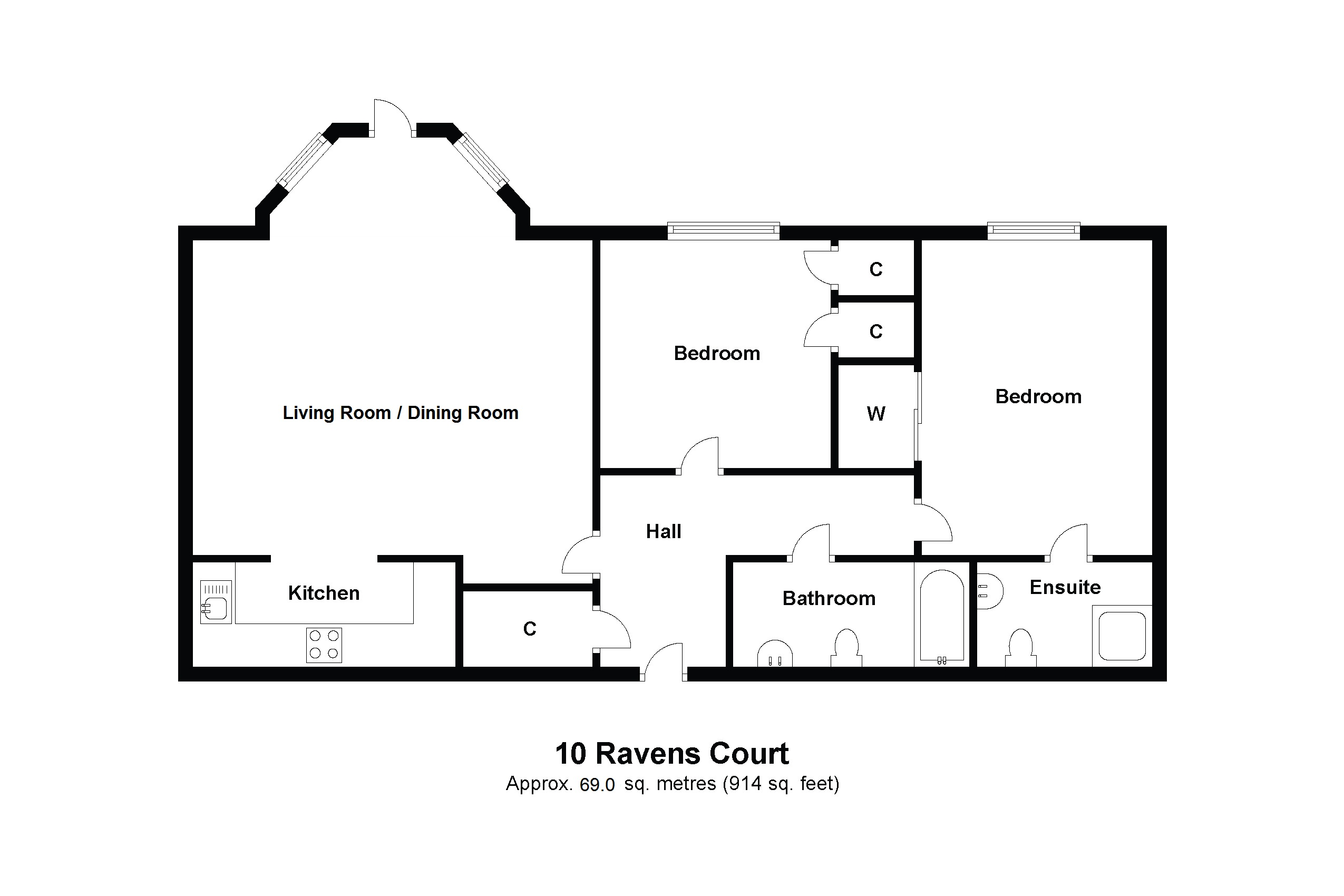 10 Ravens Court Floorplan