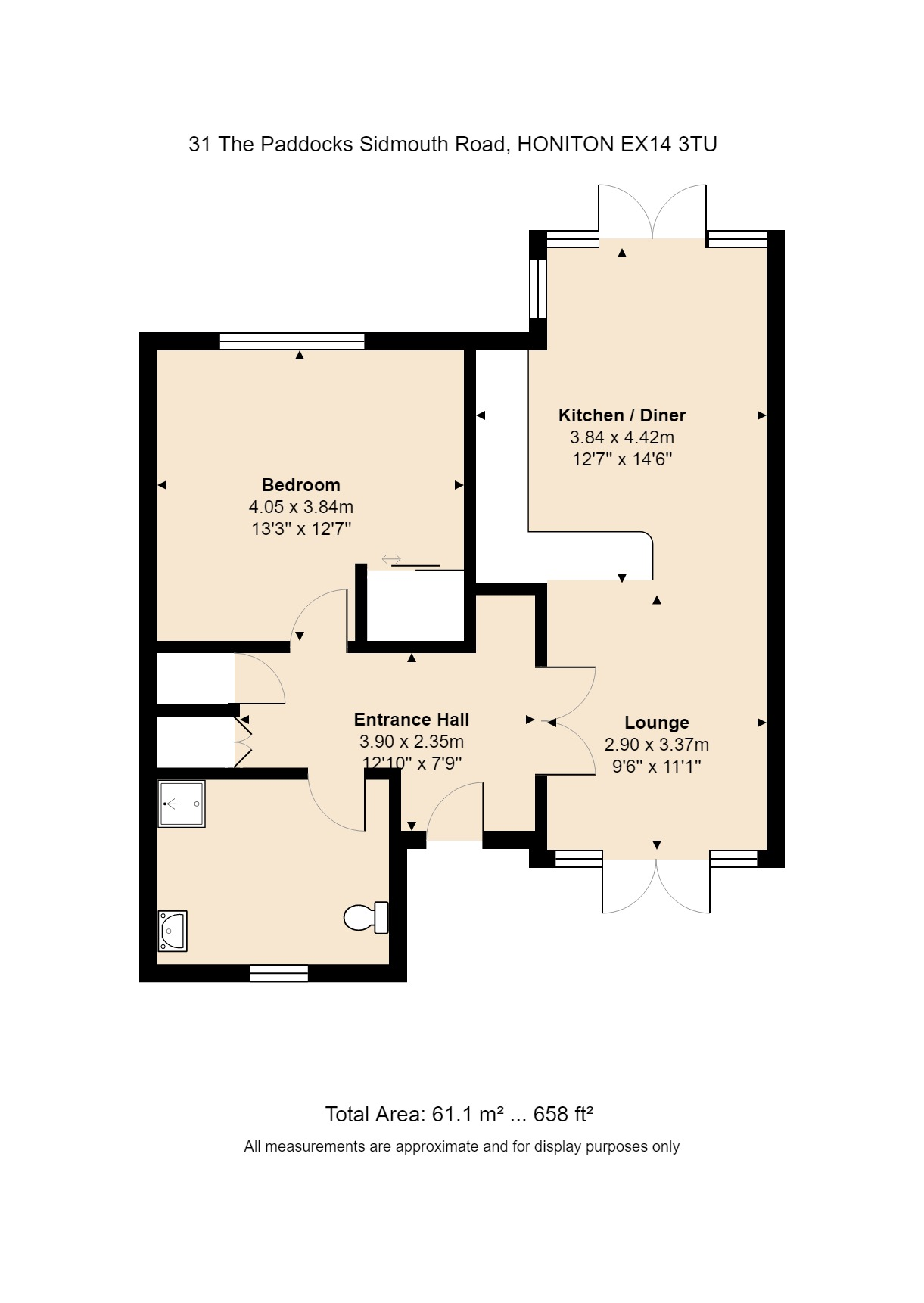 31 The Paddocks Floorplan