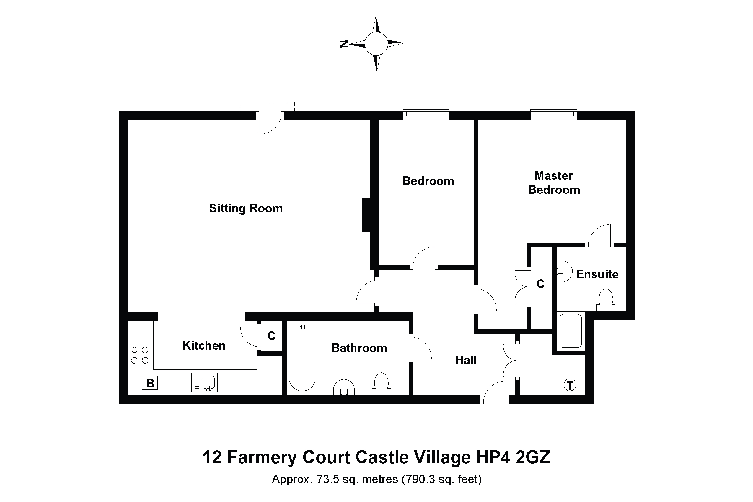 12 Farmery Court Floorplan