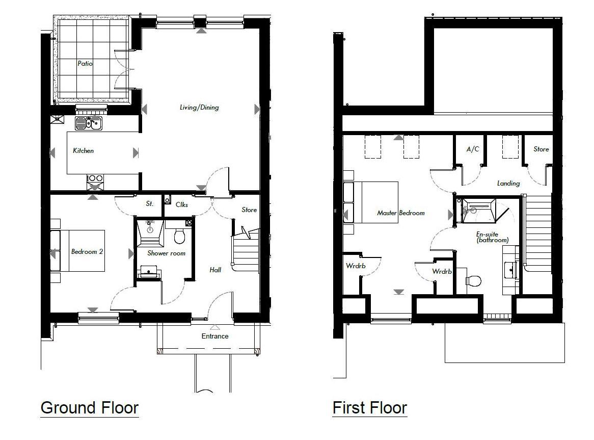 New Build, 2 Meadow View Floorplan