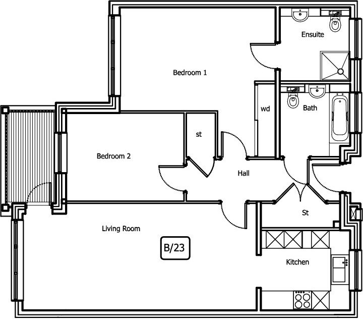 New Build 8 Bush Davies House Floorplan