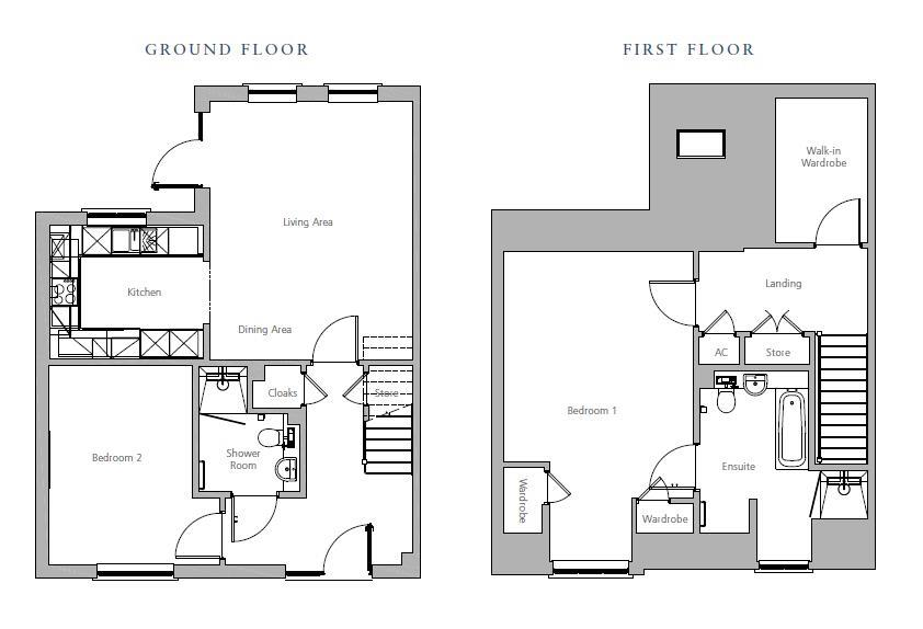New Build, Plot 80, 2 Brook Place Floorplan