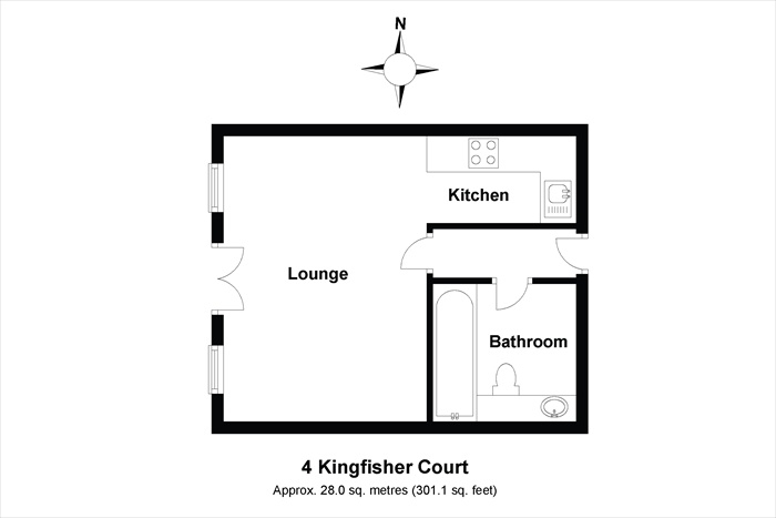 4 Kingfisher Court Floorplan
