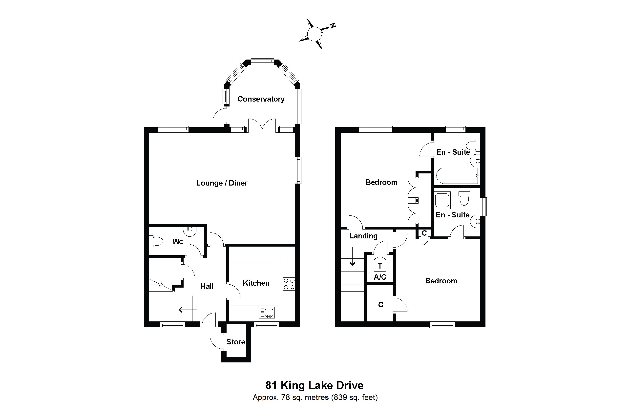 81 Kinglake Drive Floorplan