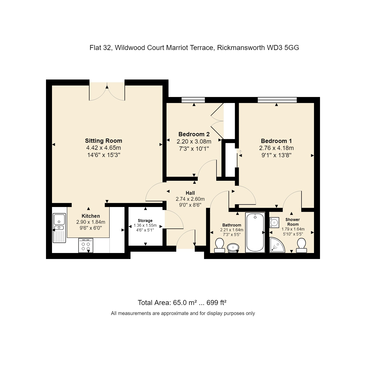 32 Wildwood Court Floorplan