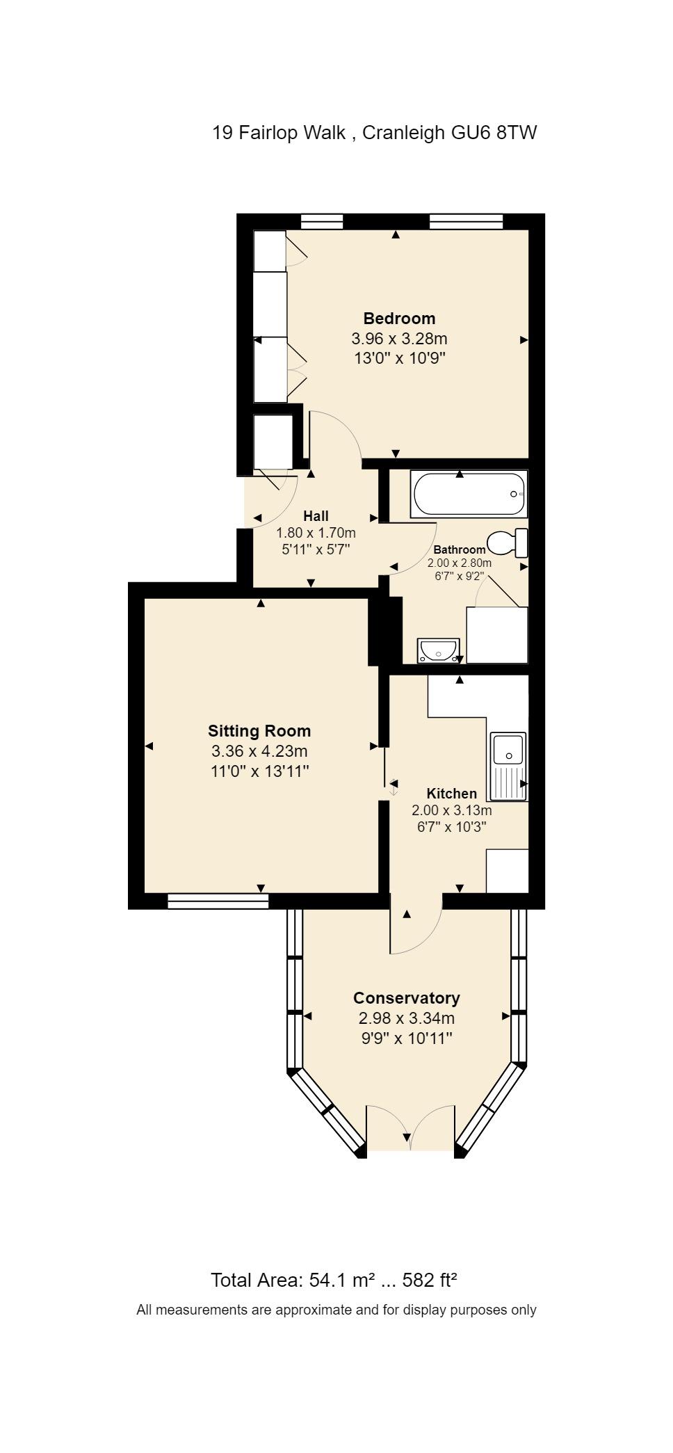 19 Fairlop Walk Floorplan