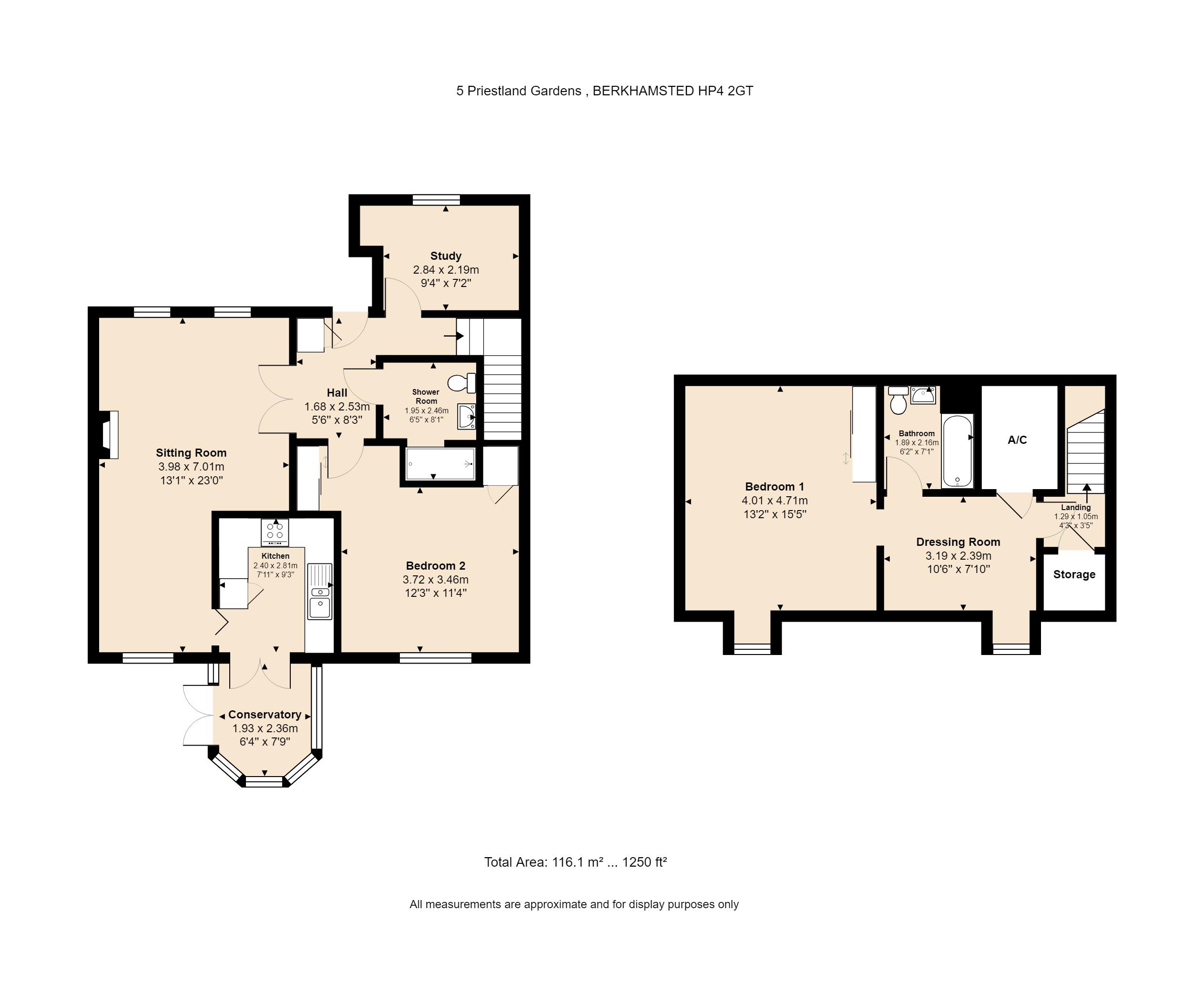5 Priestland Gardens Floorplan
