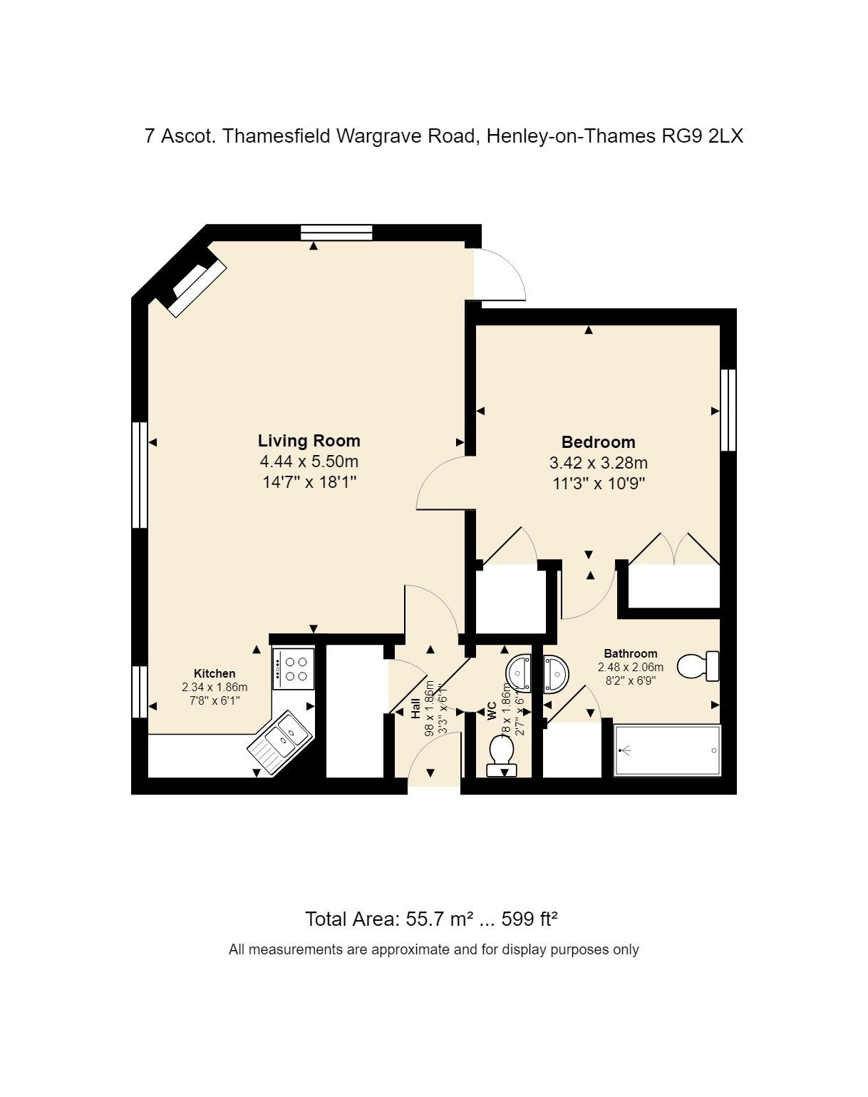 7 Ascot Floorplan