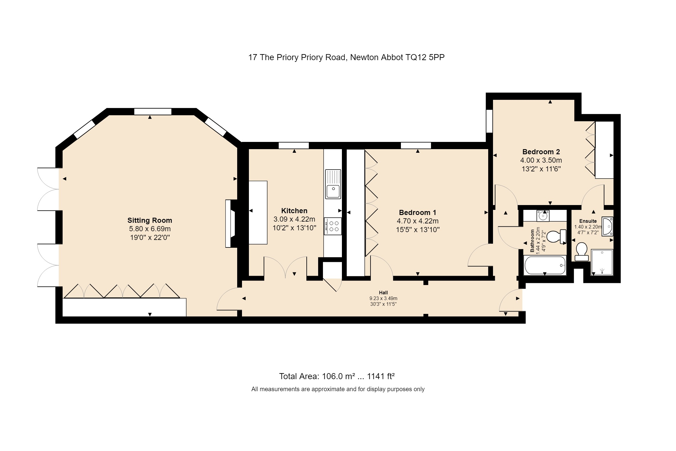 17 The Priory Floorplan