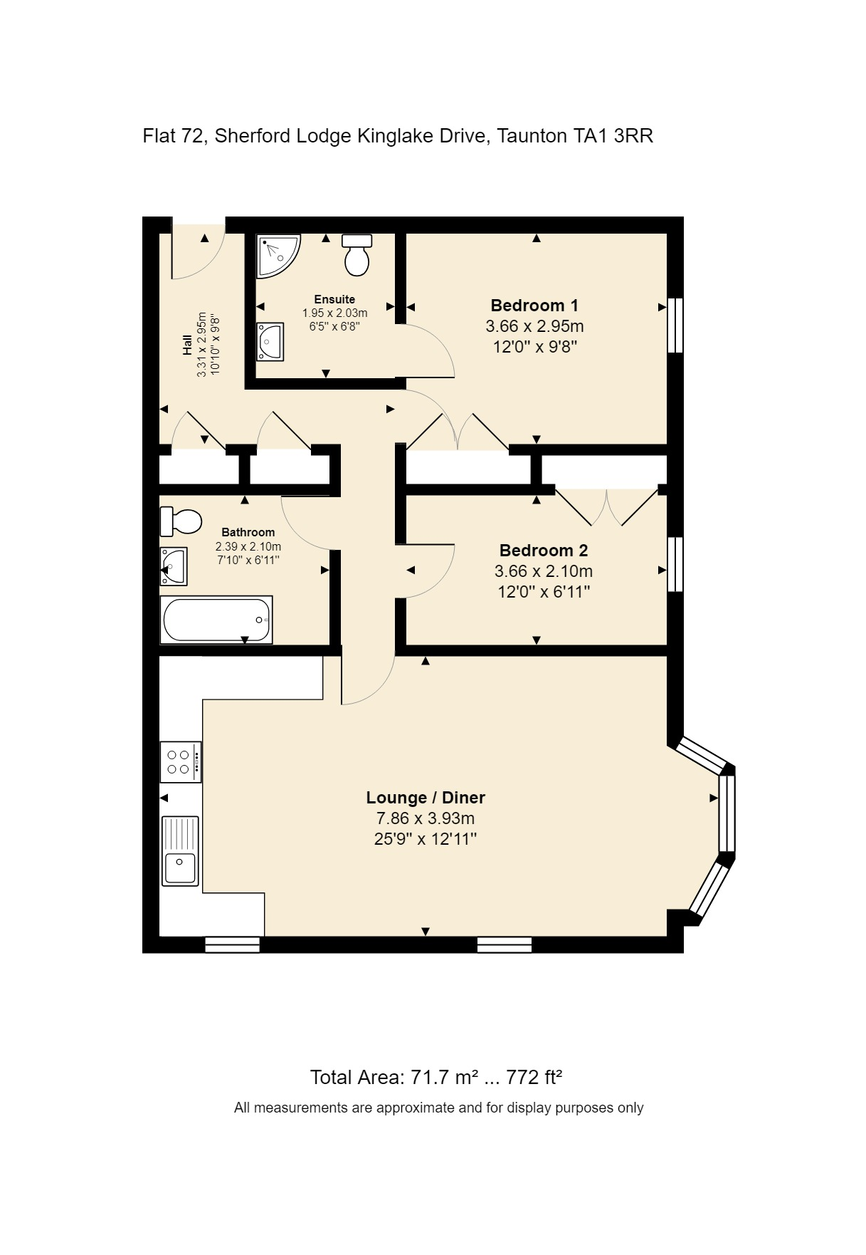 72 Sherford Lodge Floorplan