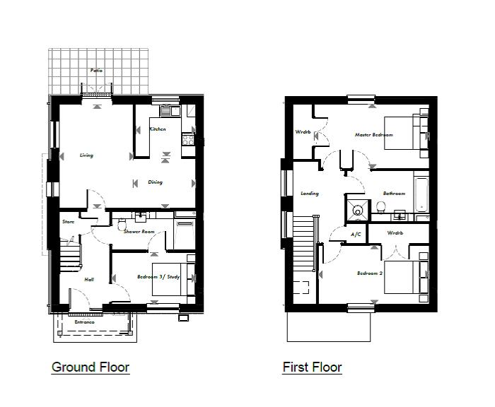 New Build, 57 The Pelham Floorplan
