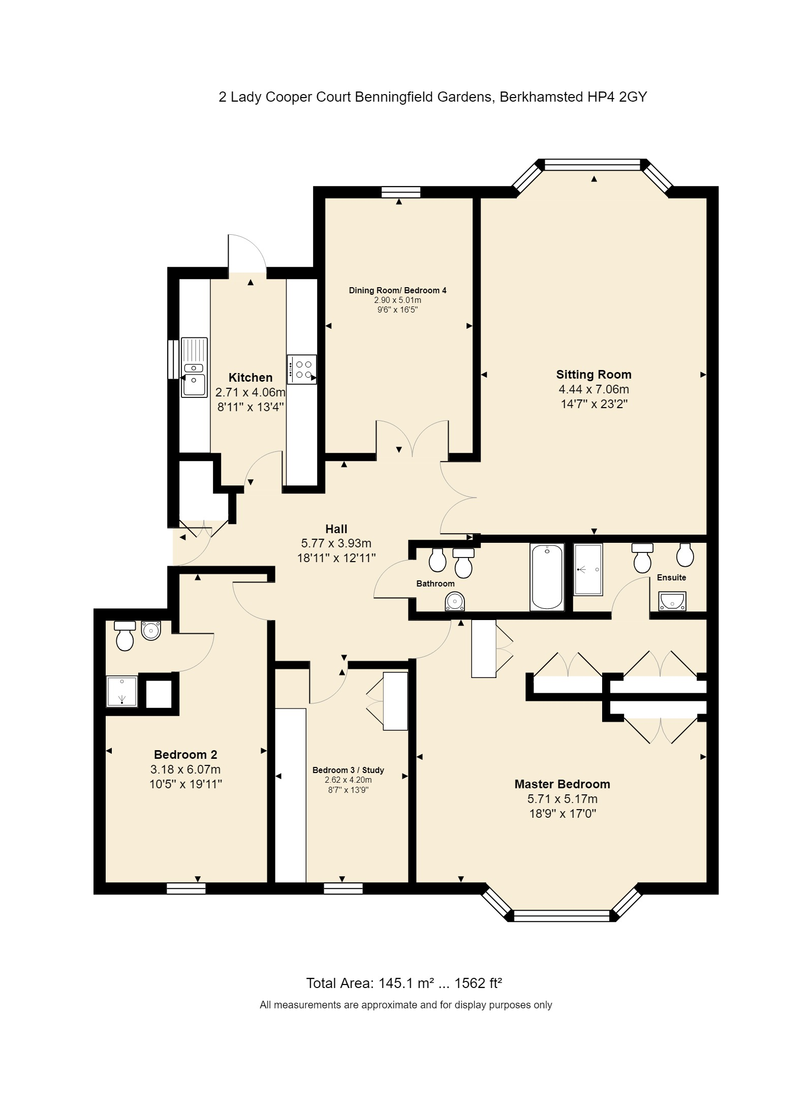 2 Lady Cooper Court Floorplan