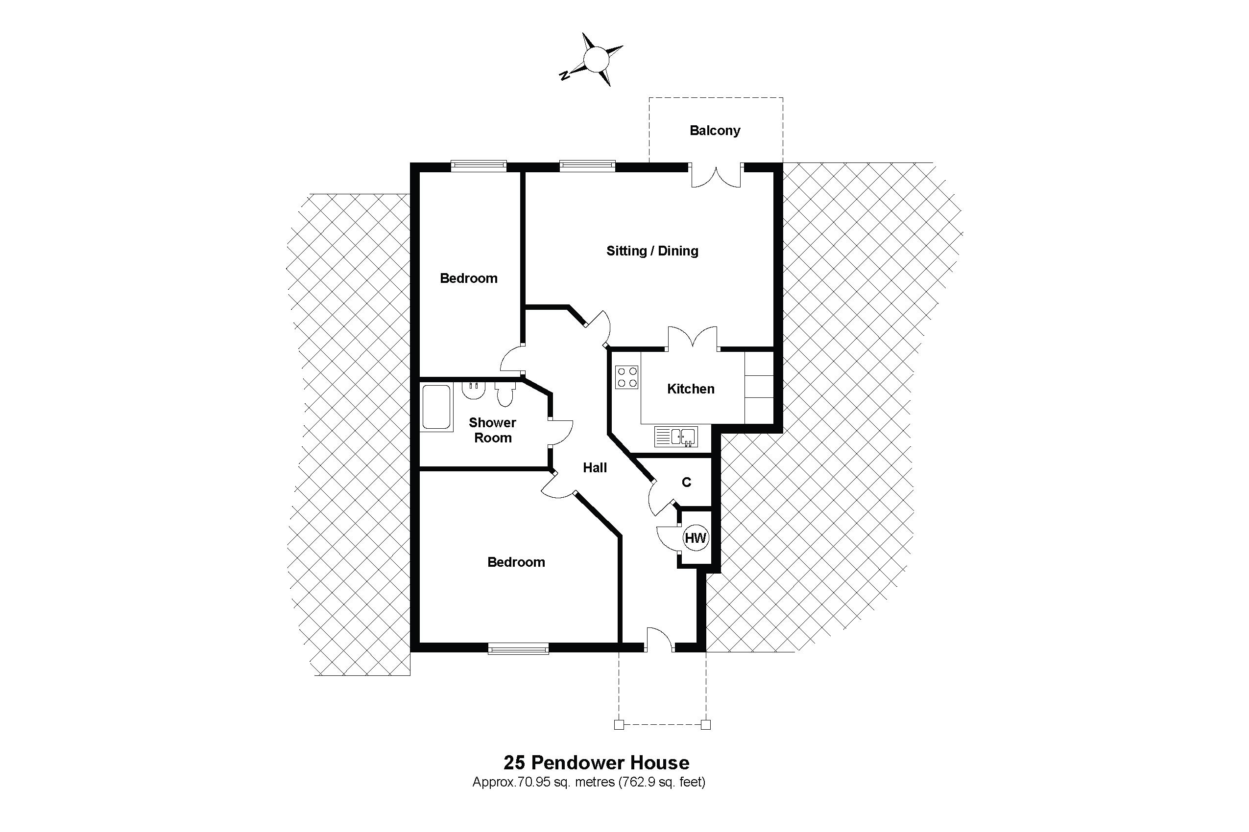 25 Pendower House Floorplan