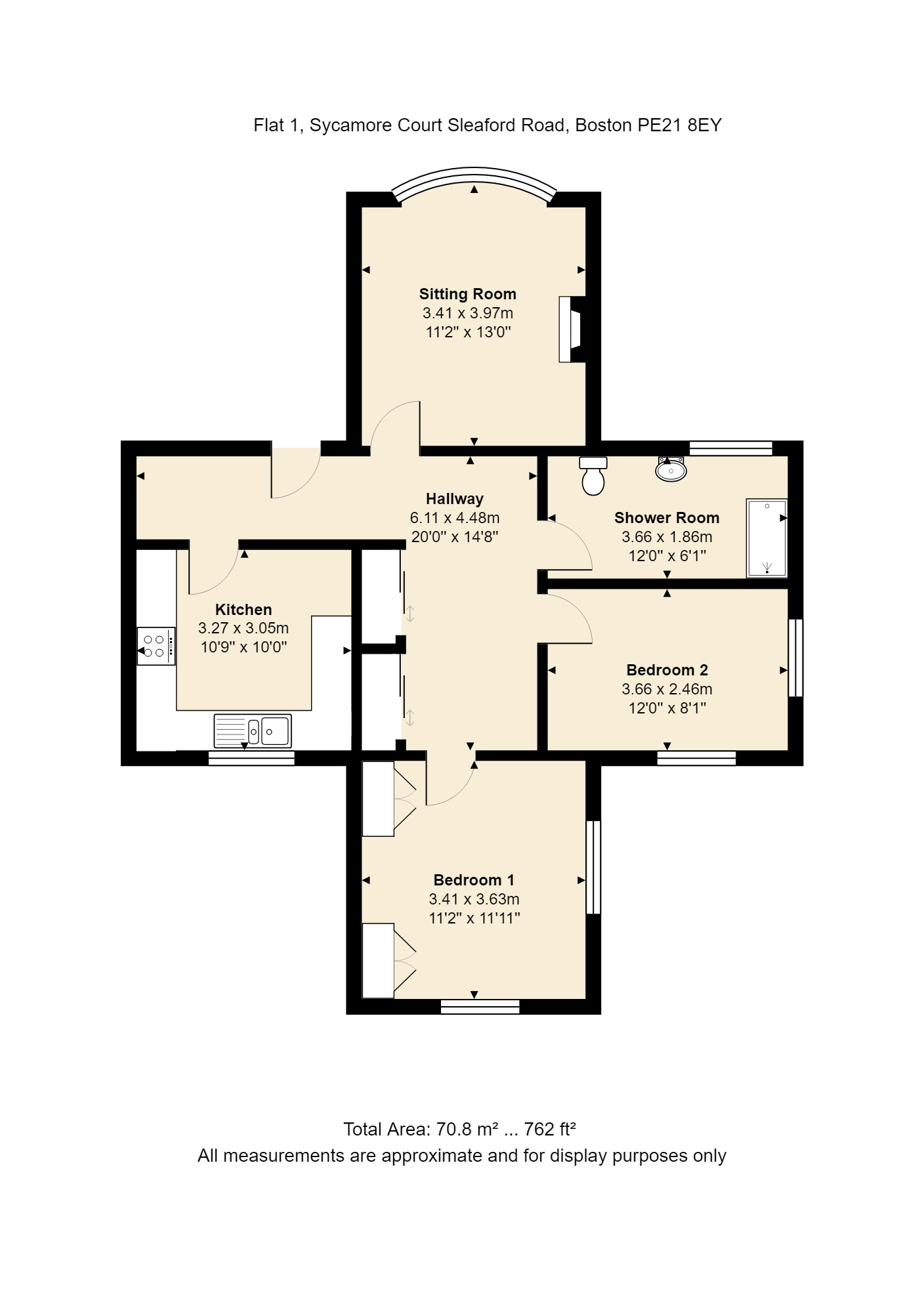 1 Sycamore Court Floorplan