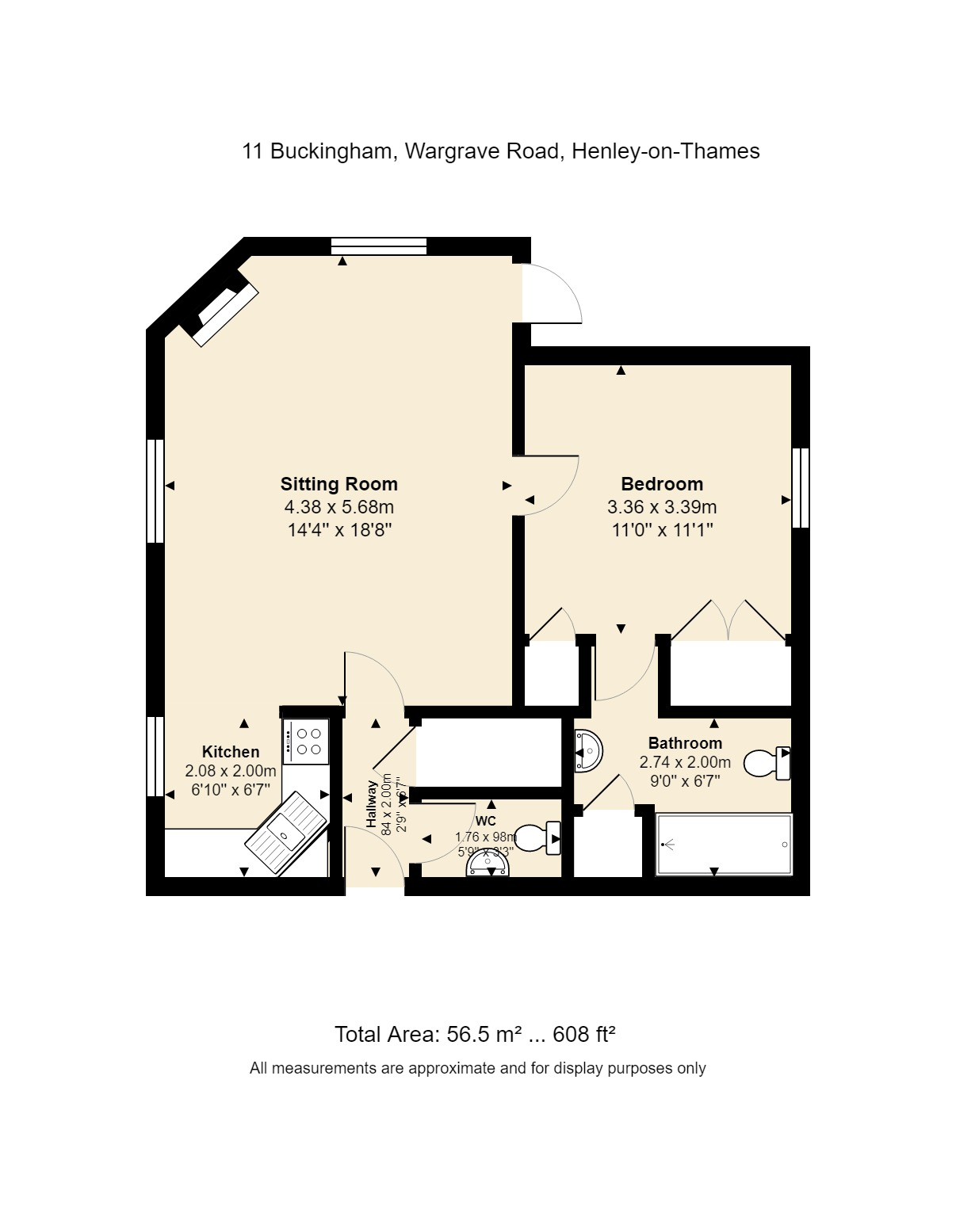 11 Buckingham Floorplan
