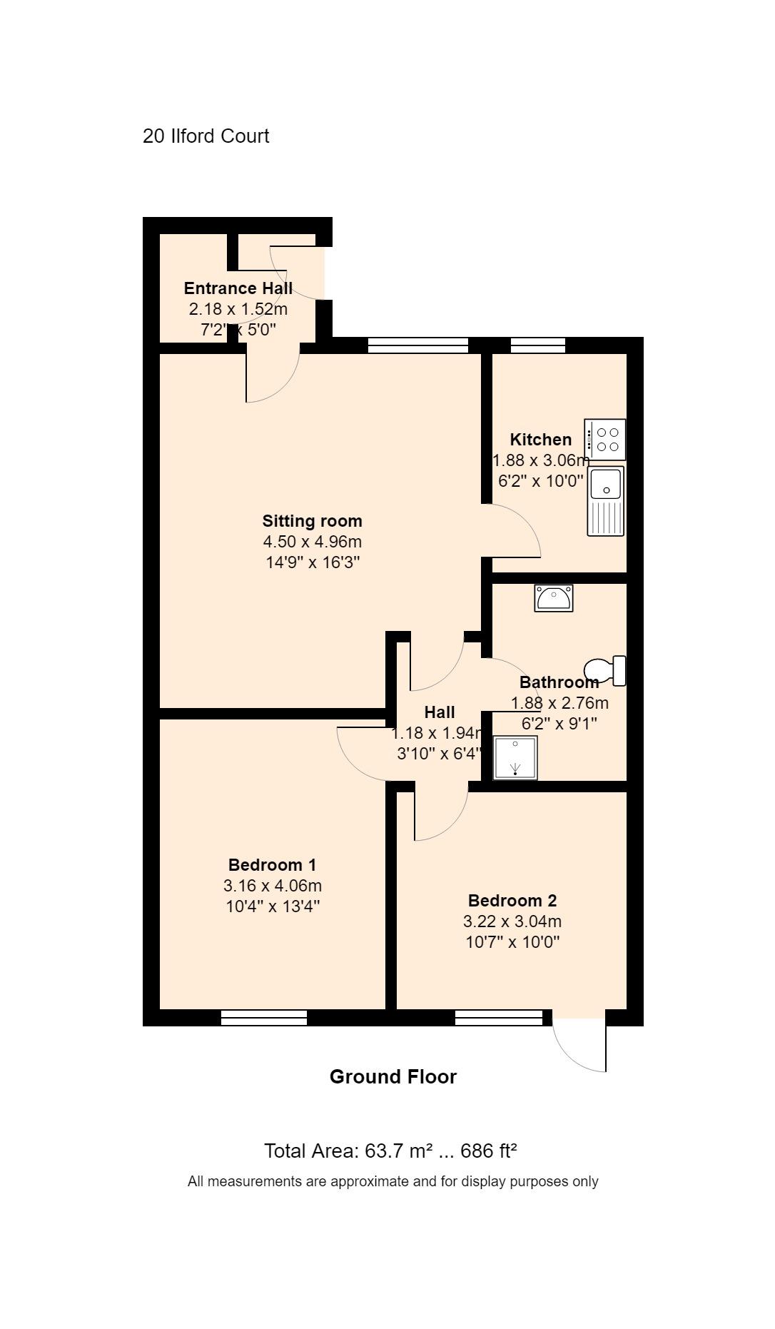 20 Ilford Court Floorplan