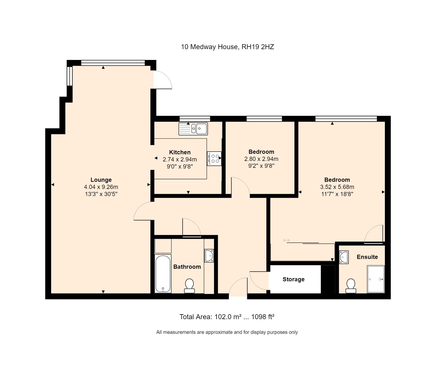 10 Medway House Floorplan