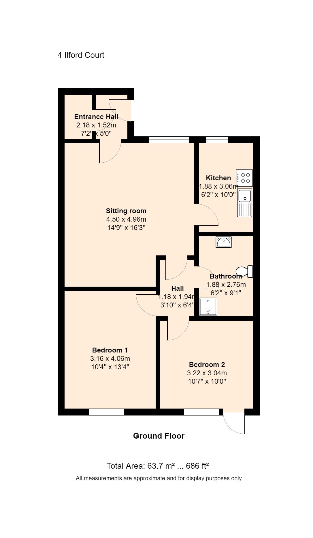 4 Ilford Court Floorplan