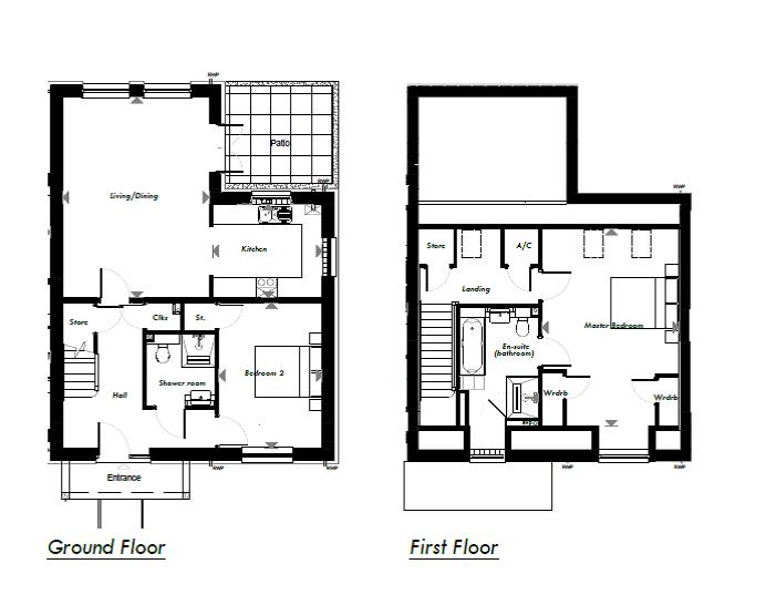 New Build, 9 Meadow View Floorplan