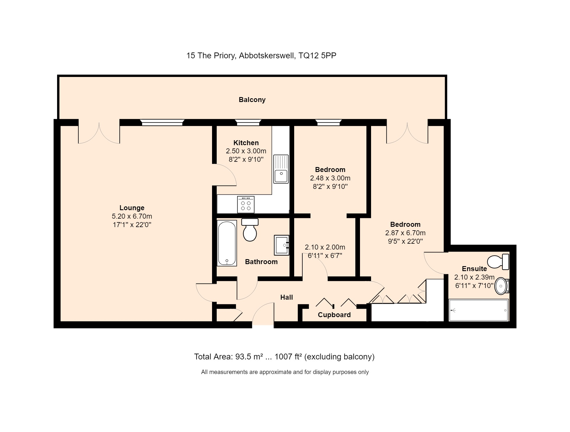 15 The Priory Floorplan