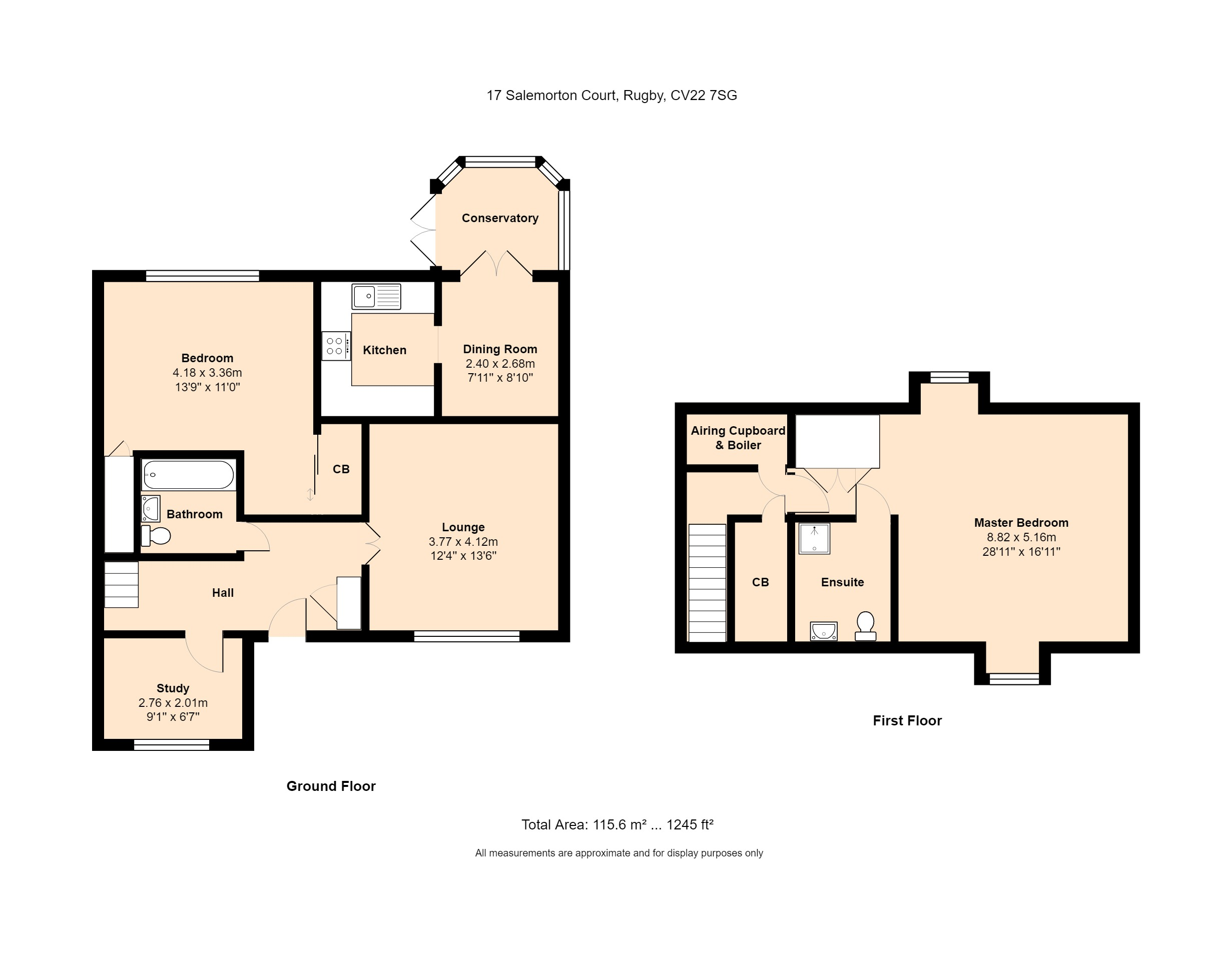 17 Salemorton Court Floorplan