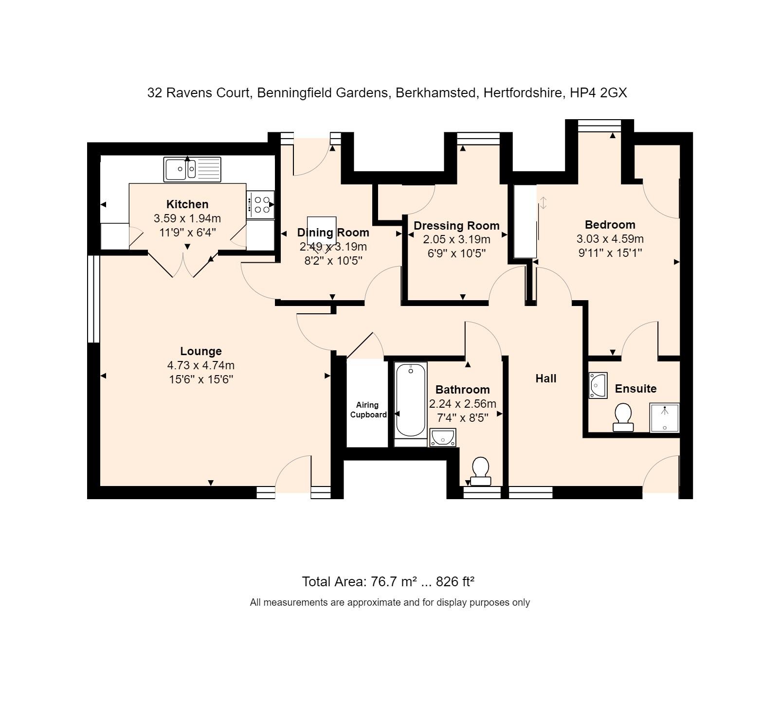 32 Ravens Court Floorplan