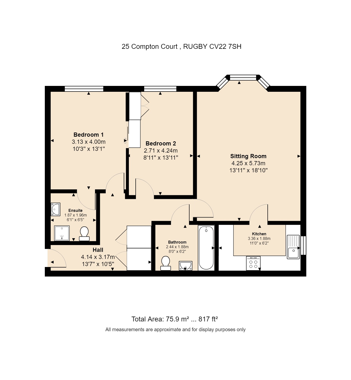 25 Compton Court Floorplan