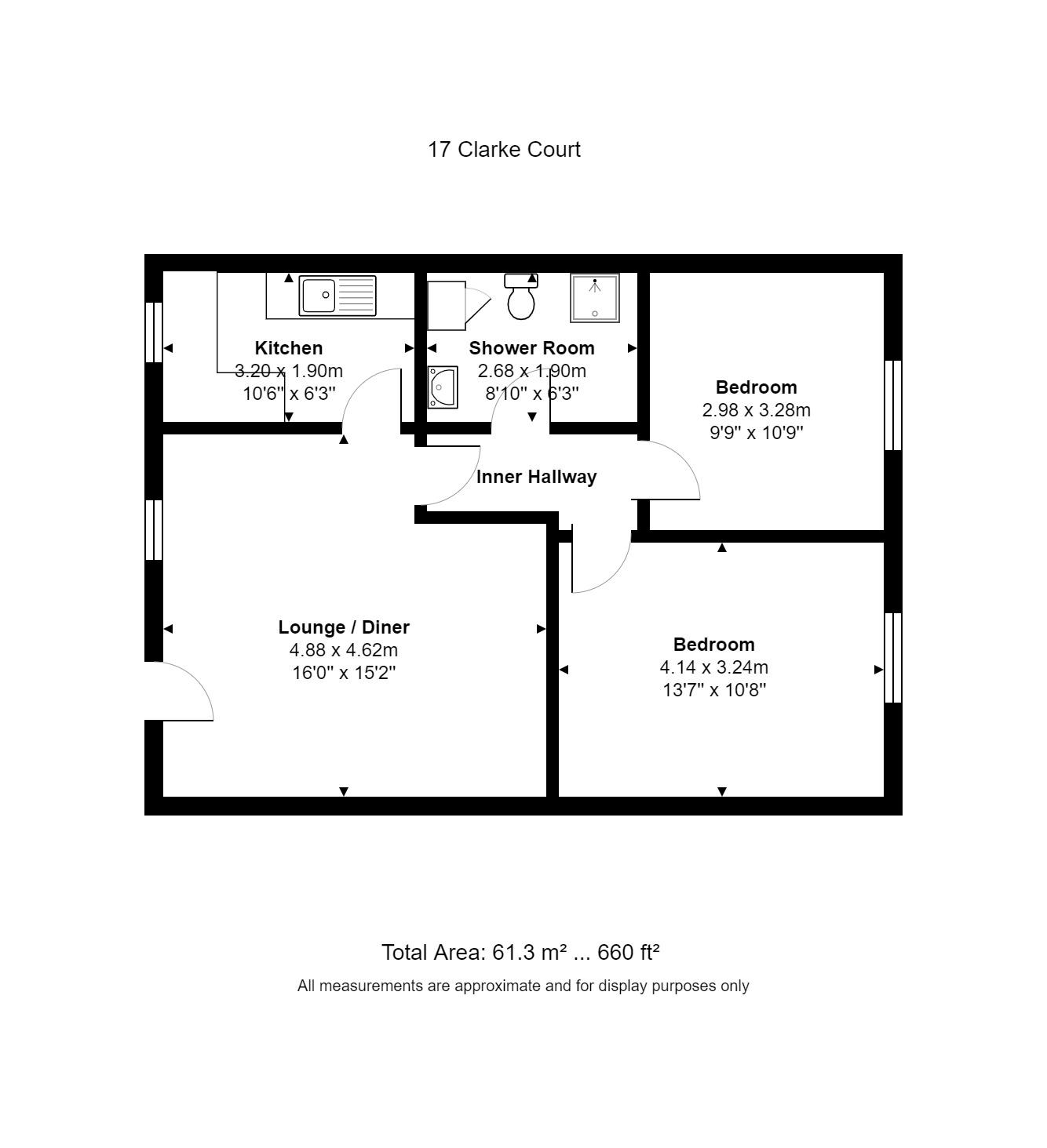 17 Clarke Place Floorplan