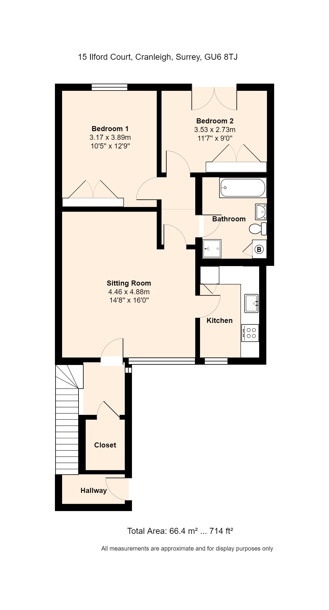 15 Ilford Court Floorplan