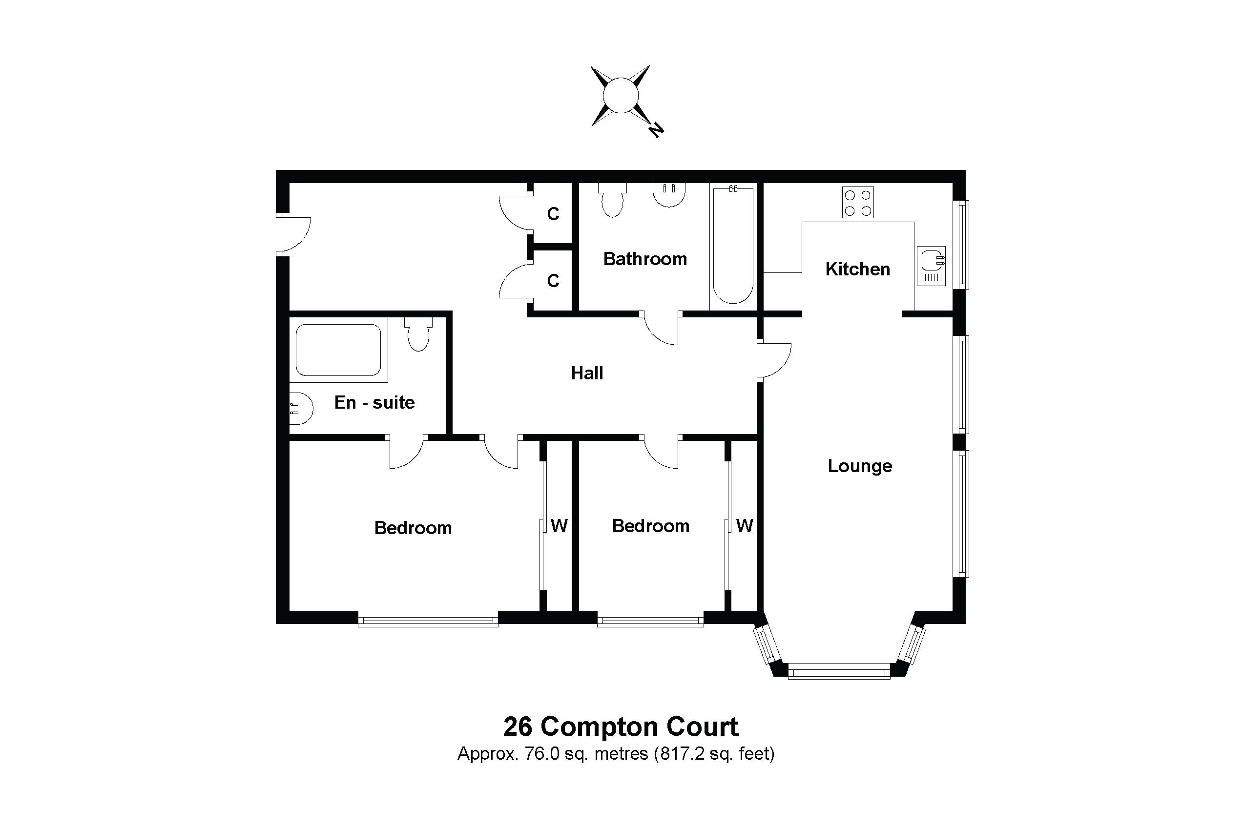 26 Compton Court Floorplan