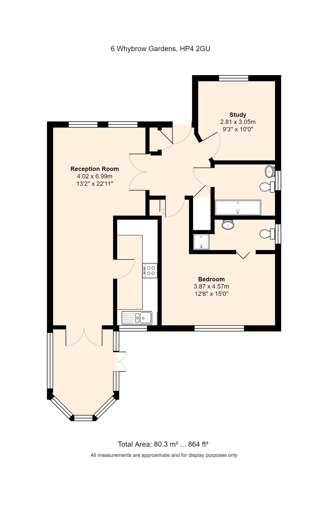 6 Whybrow Gardens Floorplan