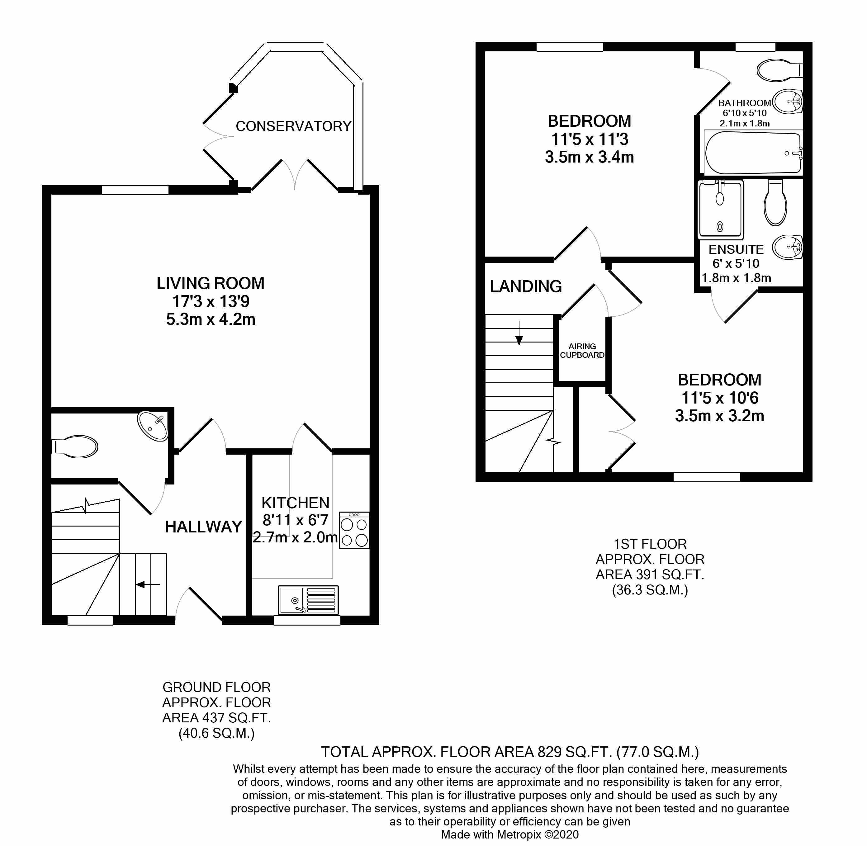 21 Napton Court Floorplan