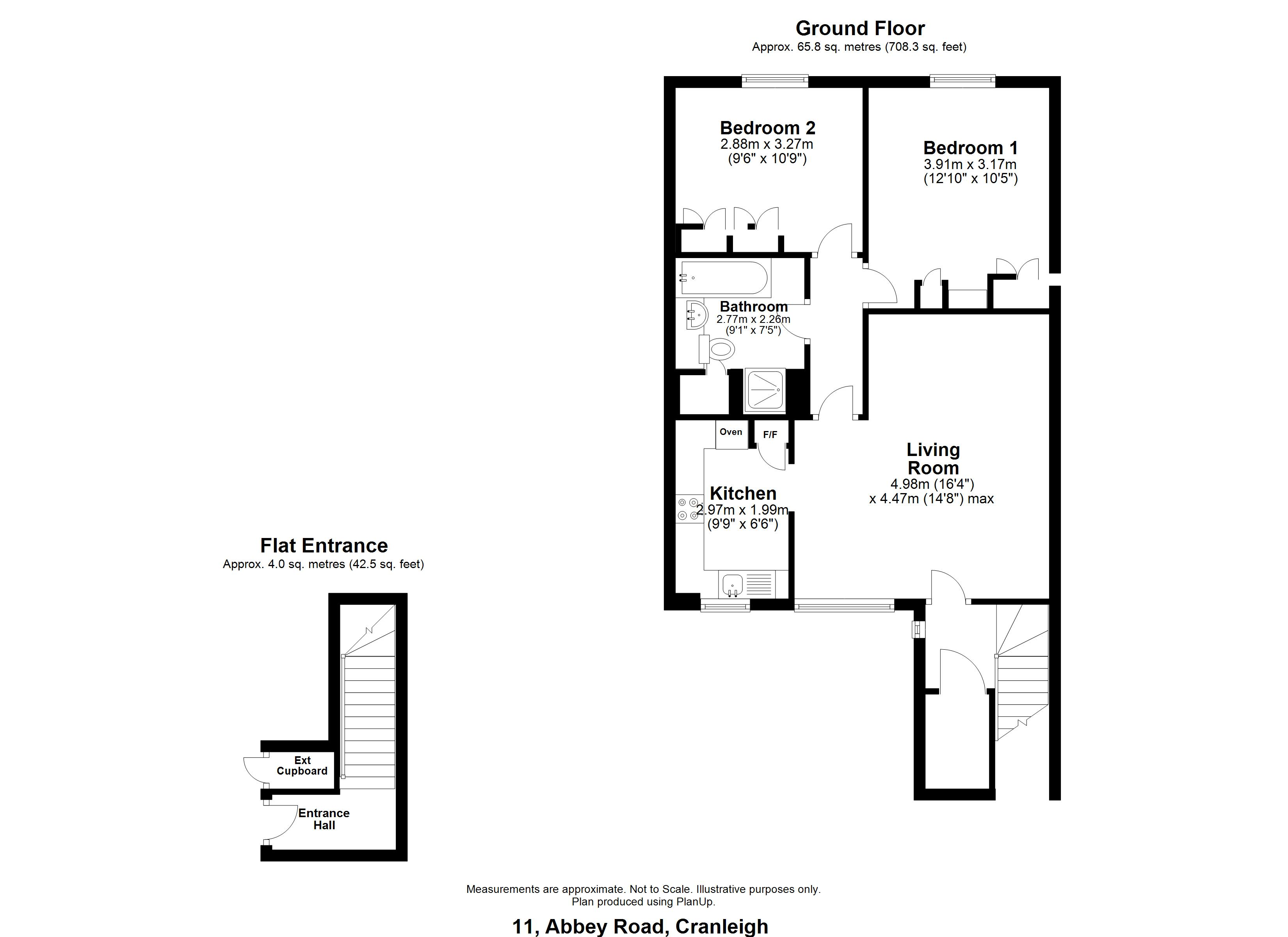 8 Abbey Close Floorplan