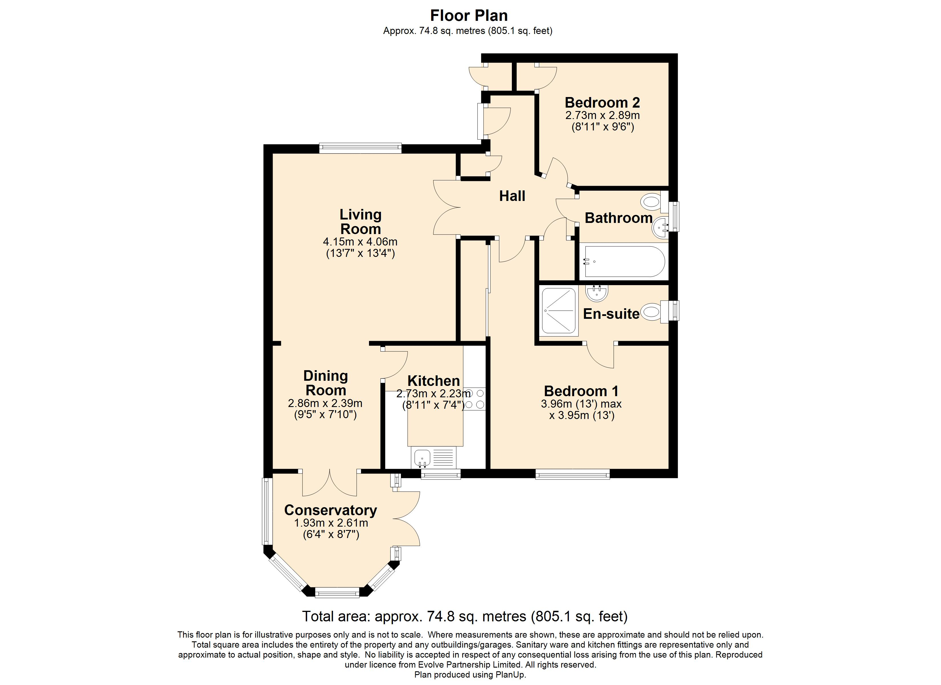 14 Badgers Walk Floorplan