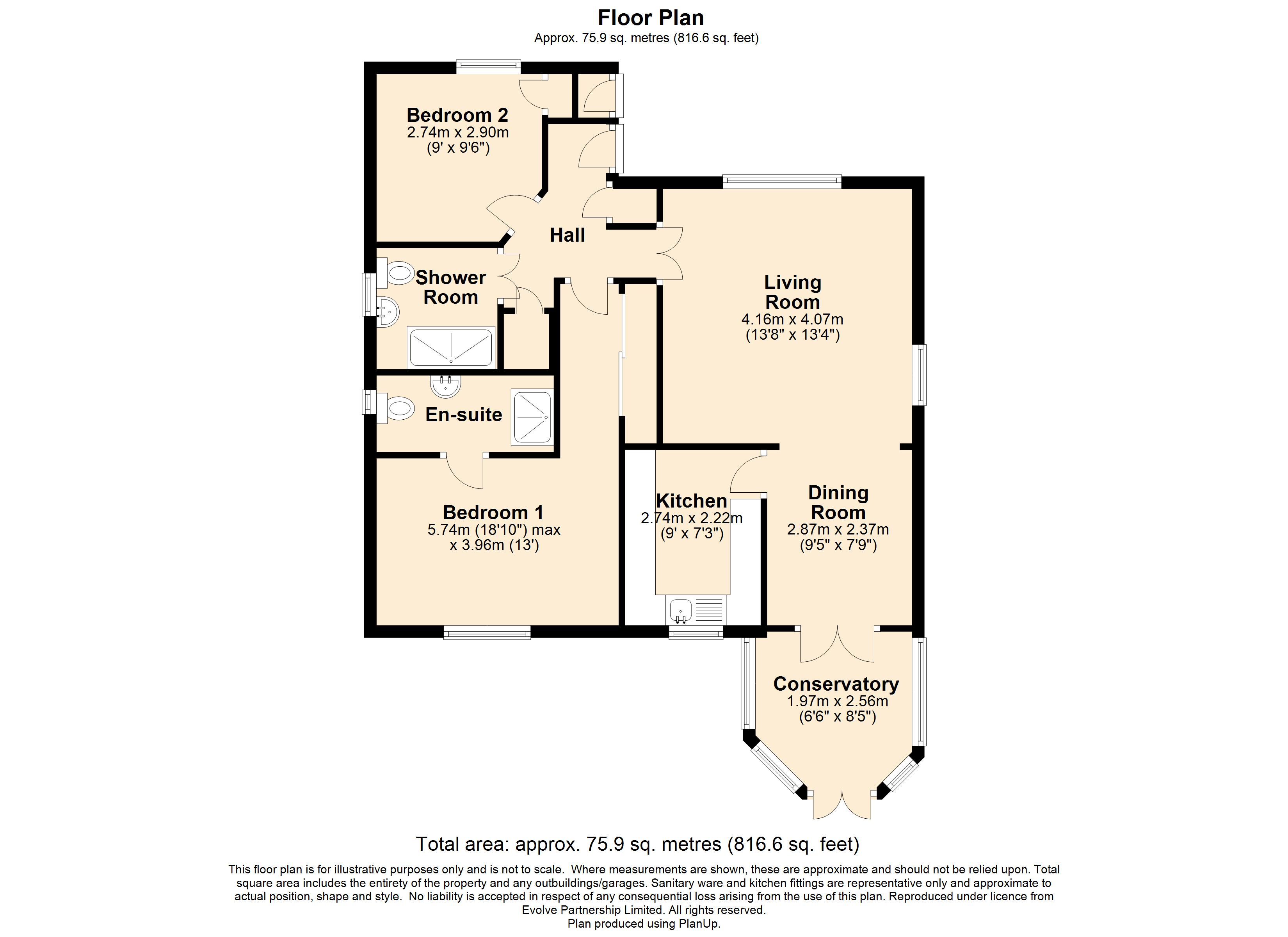19 Cedars Walk Floorplan