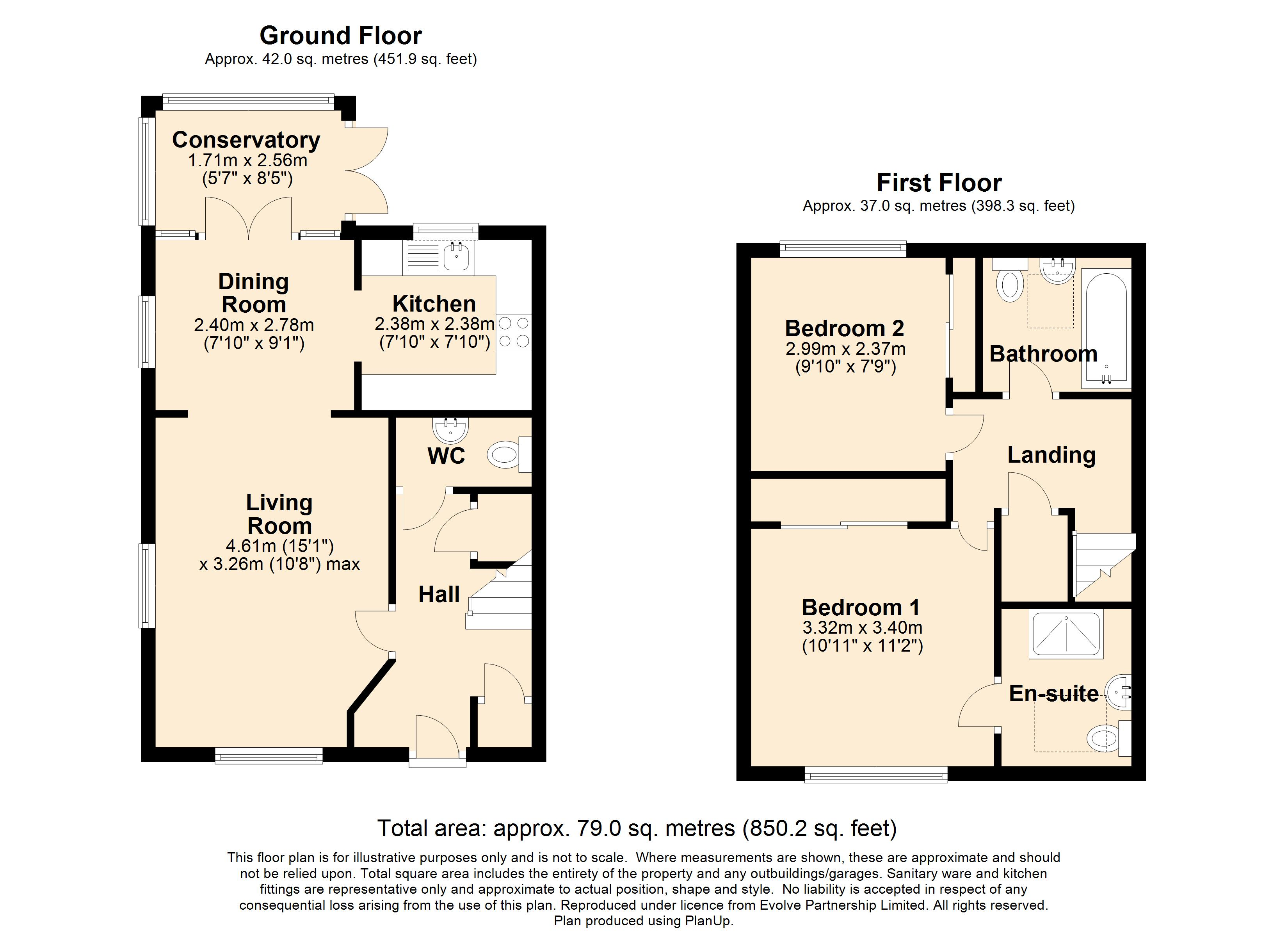 12 Marriott Terrace Floorplan