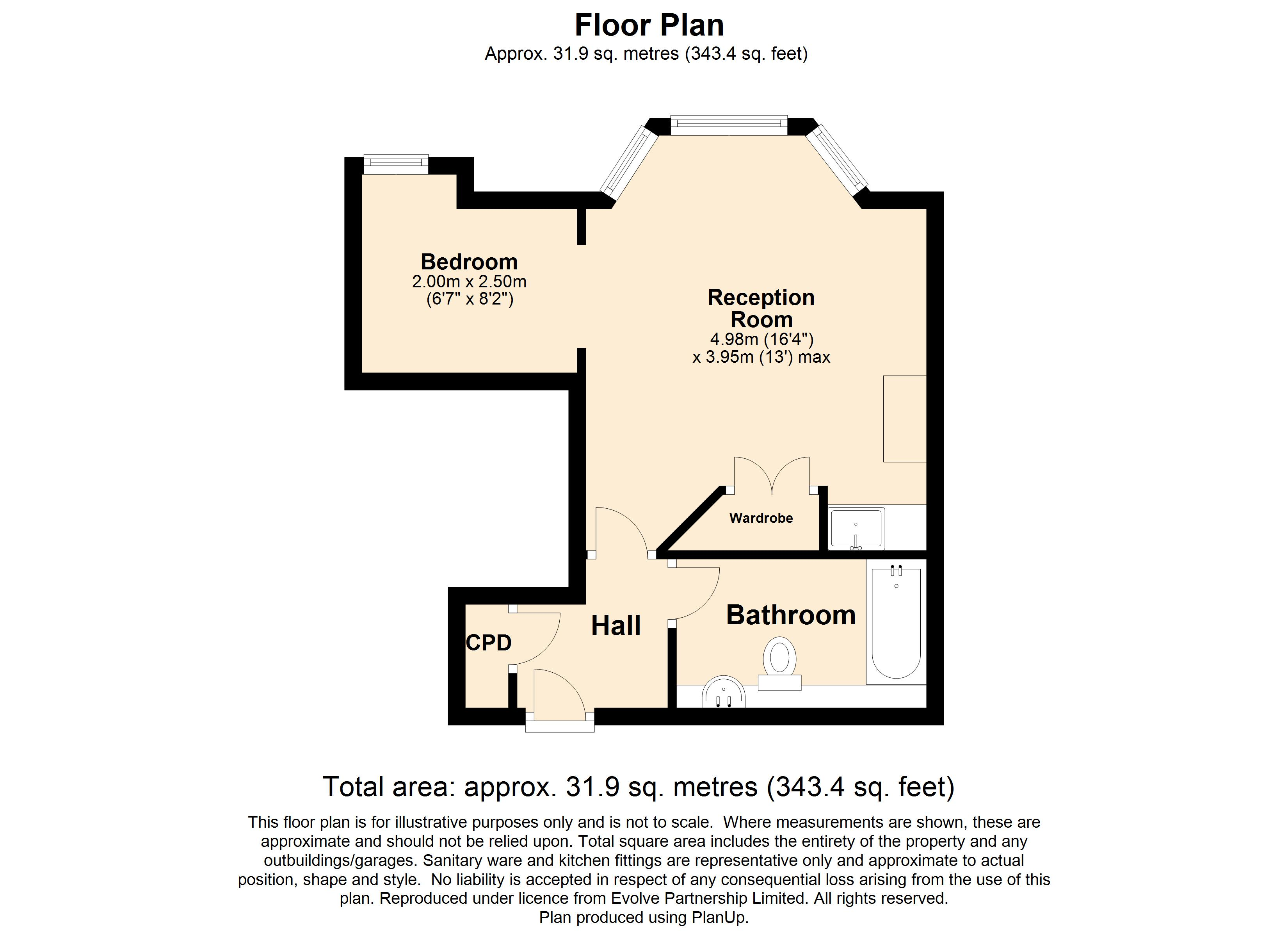36 Lilliput Floorplan