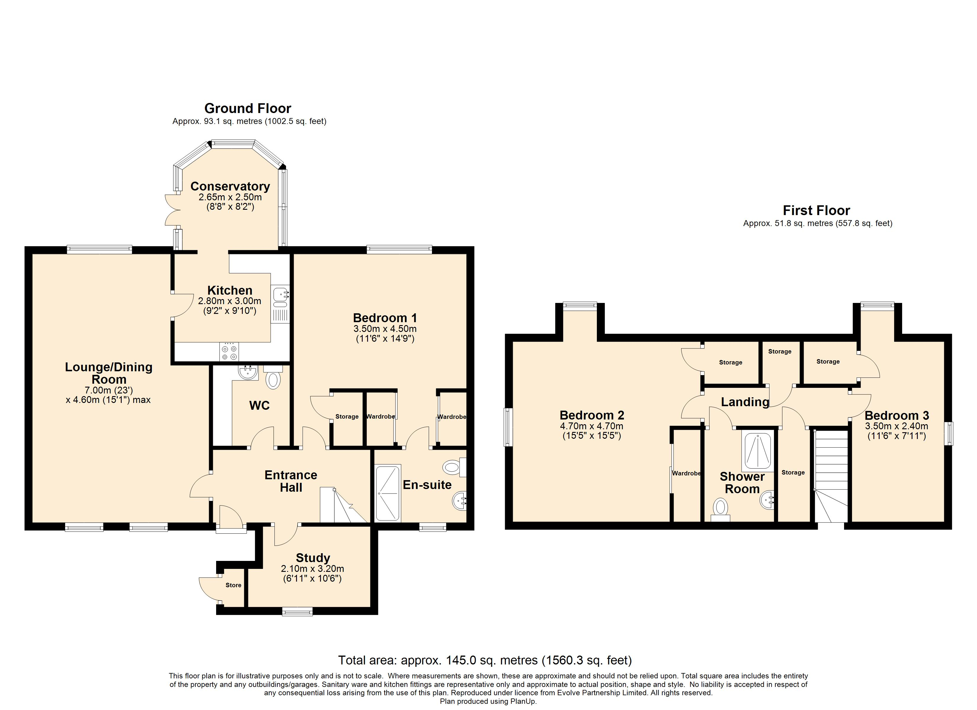 15 Priestland Gardens Floorplan