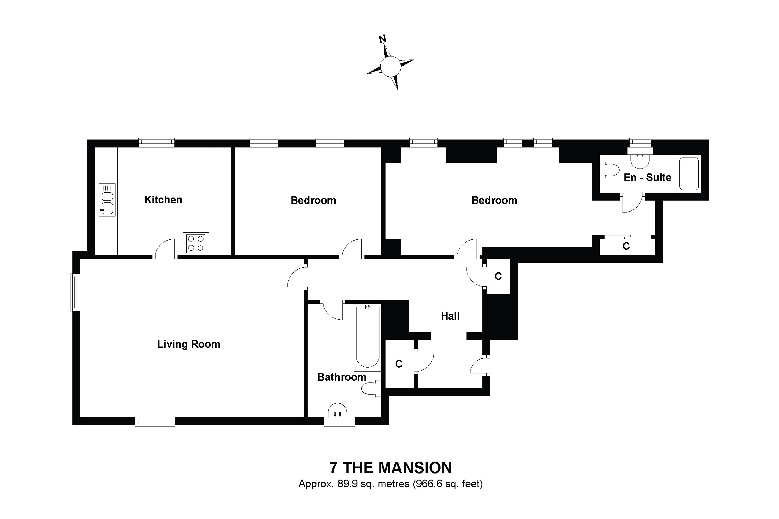 7 The Mansion Floorplan