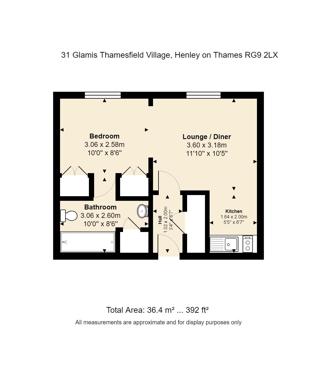 31 Glamis Floorplan