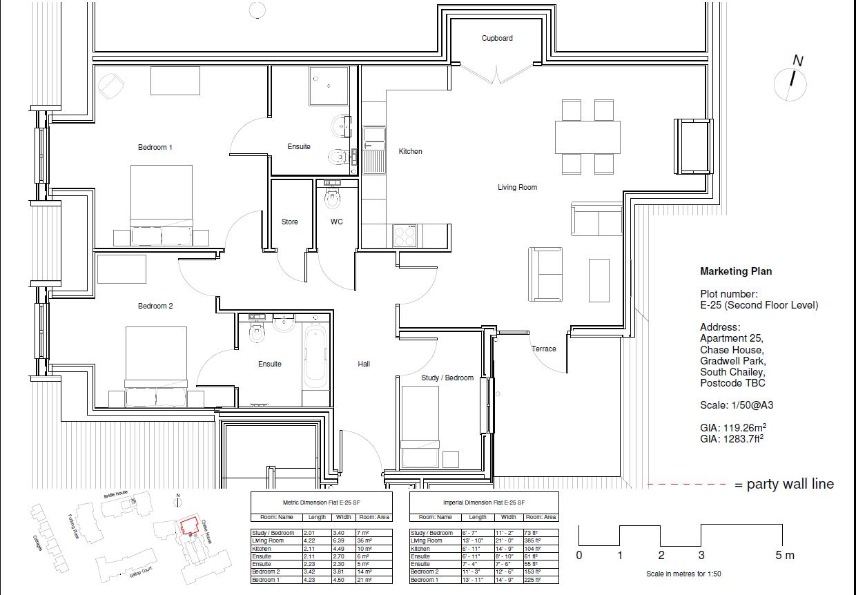 Plot 65, Flat 23 Chase House Floorplan