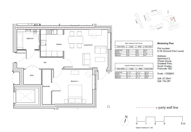 Plot 2, Flat 2 Chase House Floorplan
