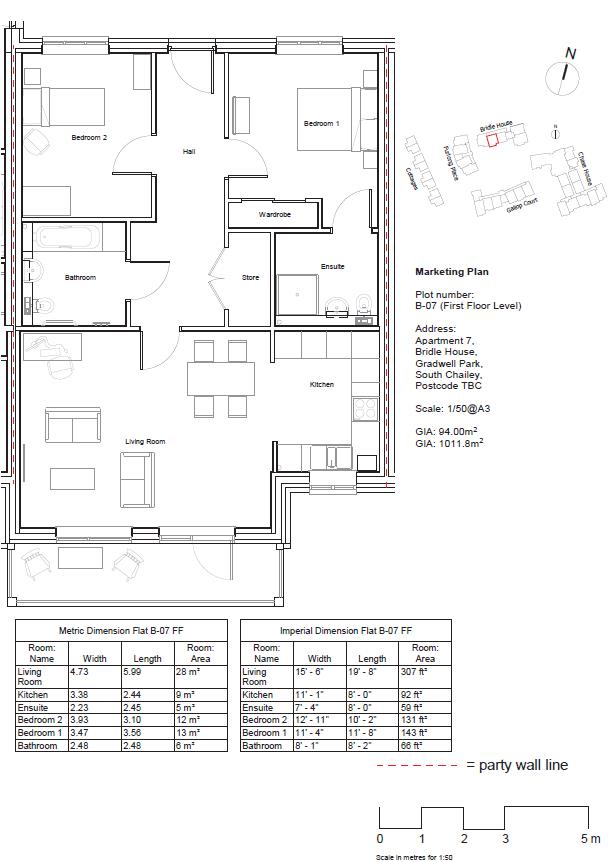 Plot 7, Flat 10 Bridle House Floorplan