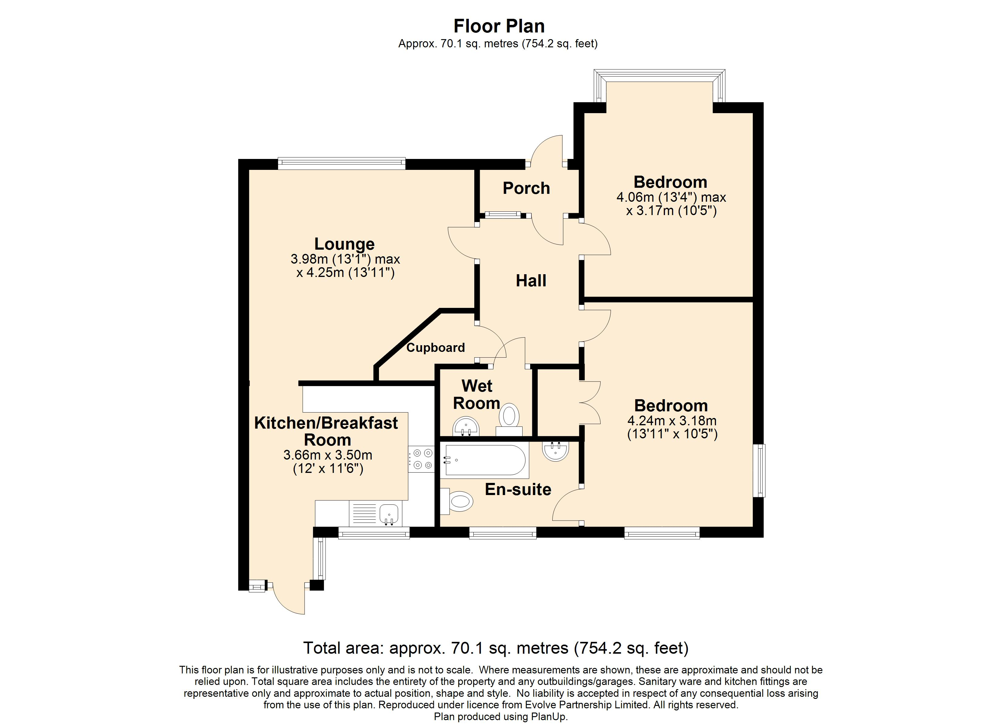 5 The Paddocks Floorplan