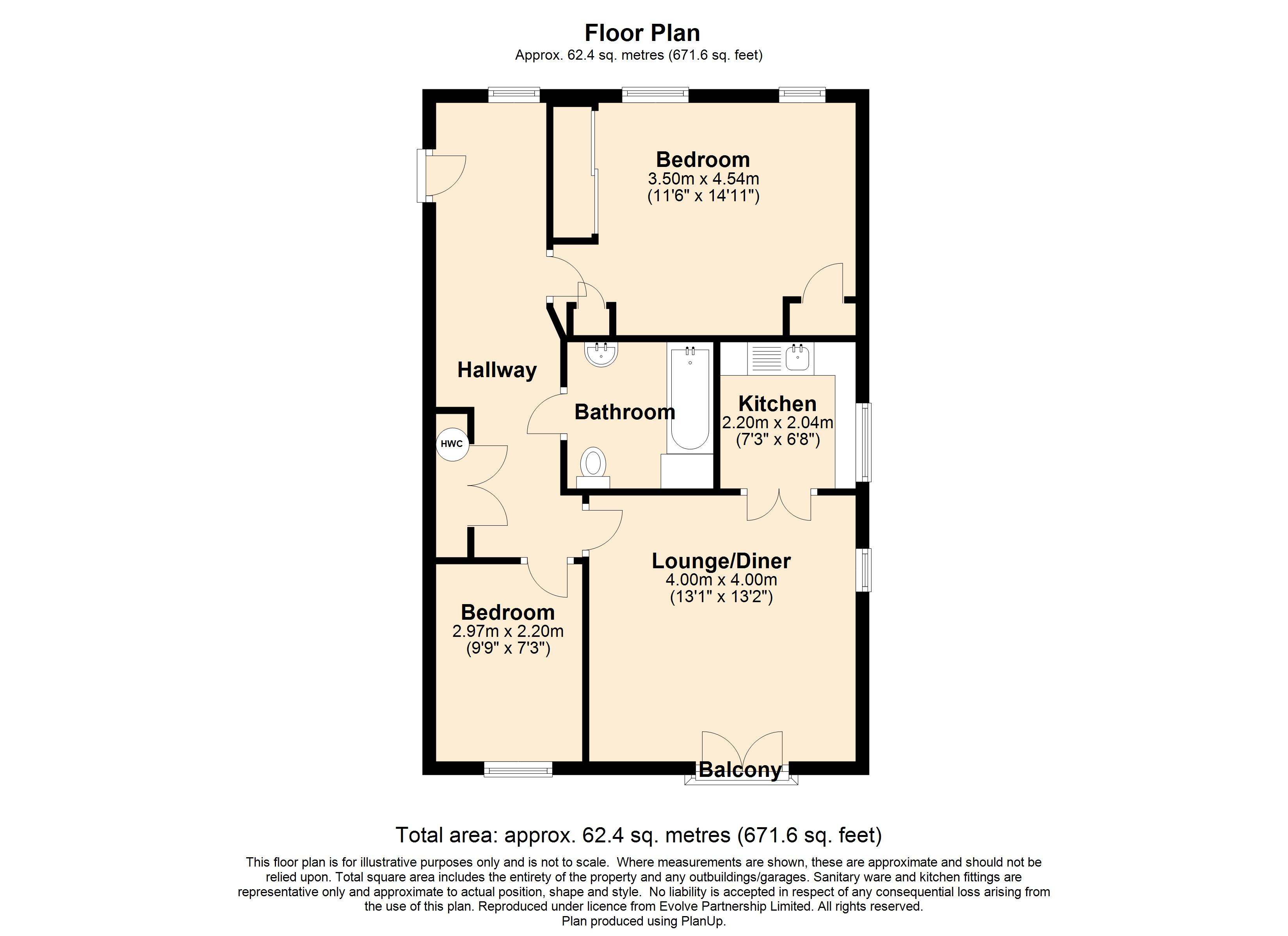 12 Nare House Floorplan