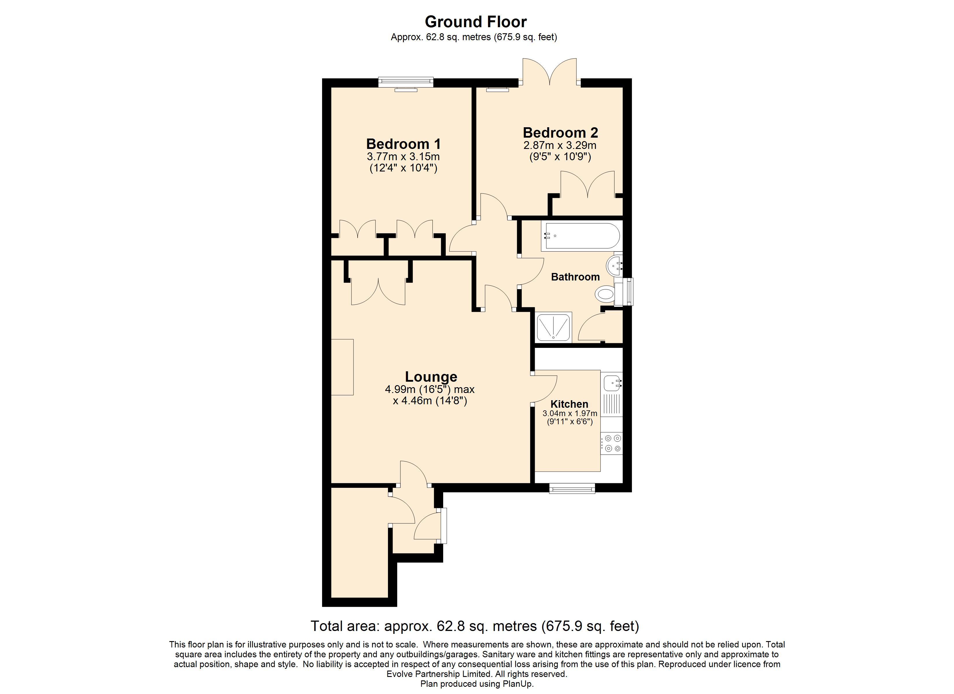 10 Ilford Court Floorplan