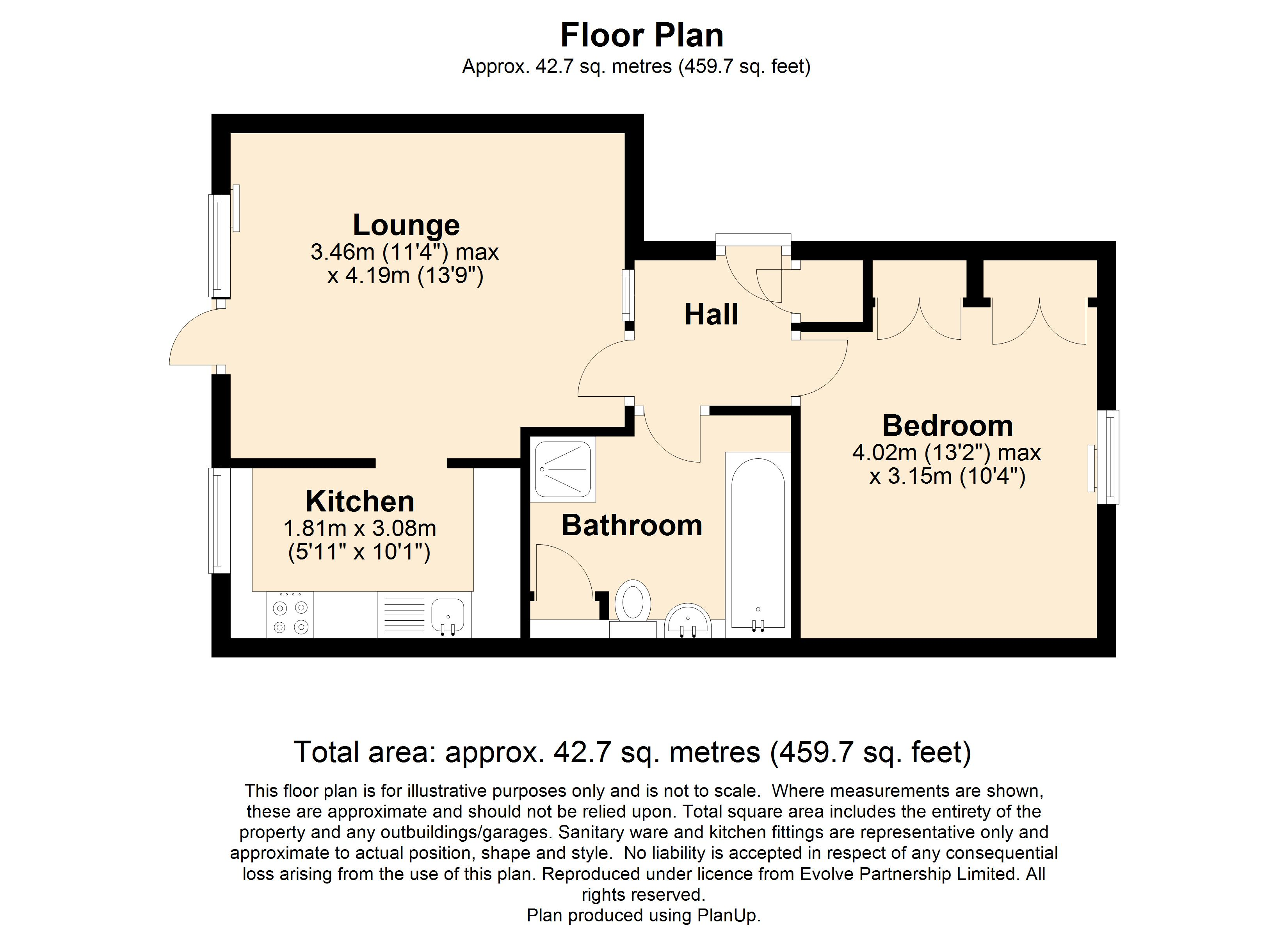 5 Loxford Court Floorplan