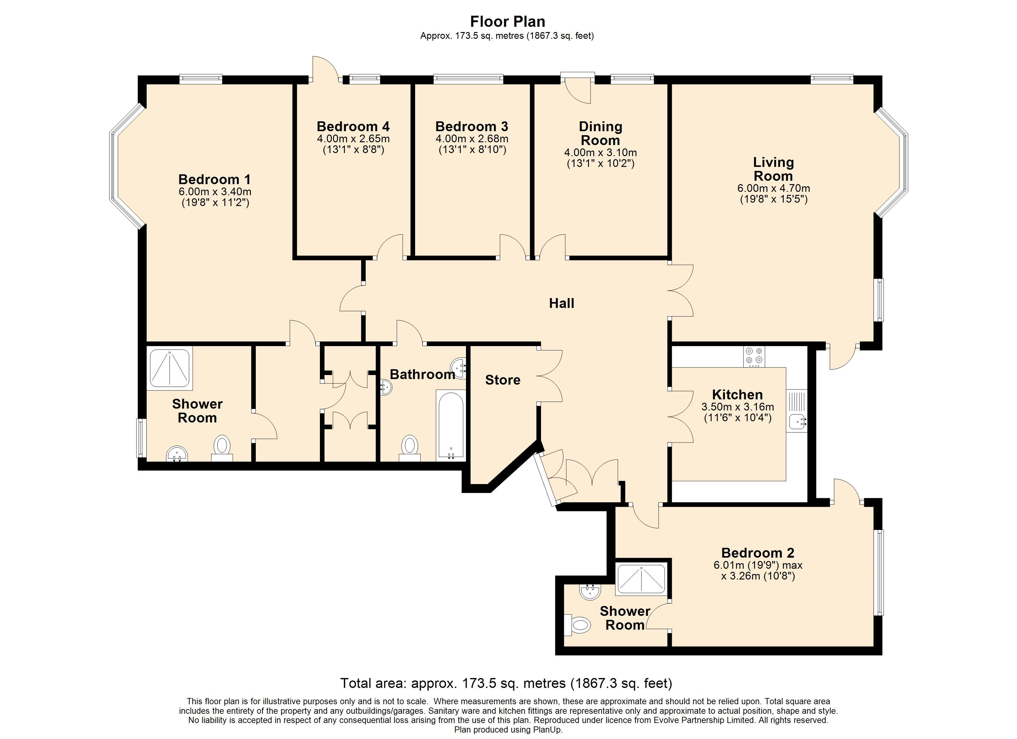 1 Lady Cooper Court Floorplan