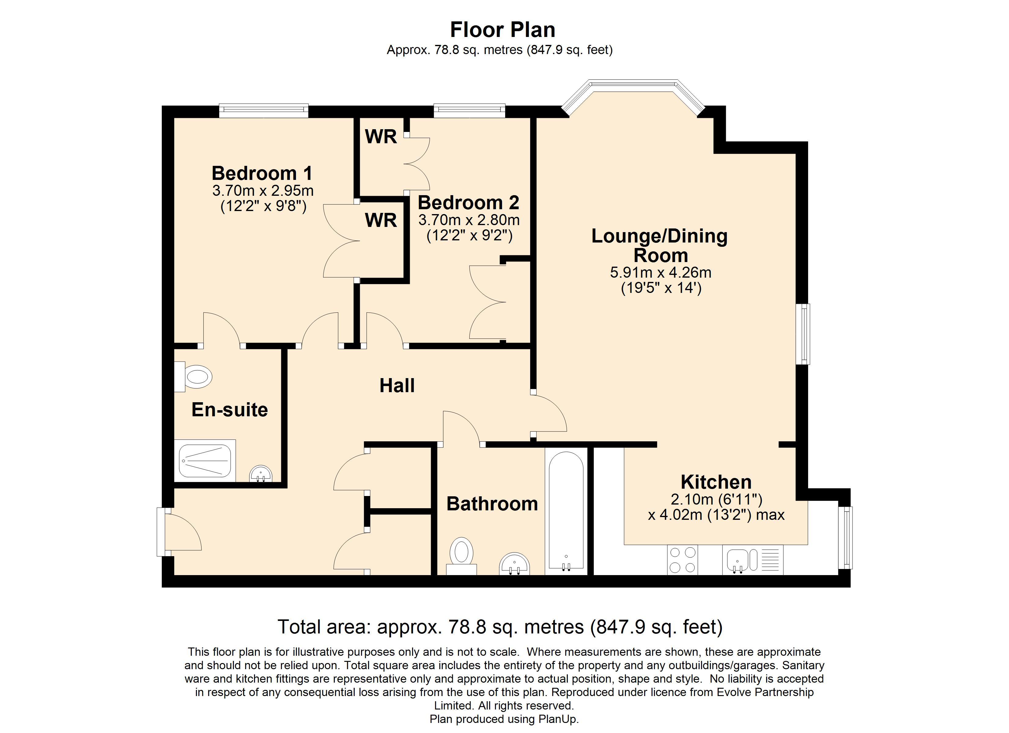 8 Middleway House Floorplan